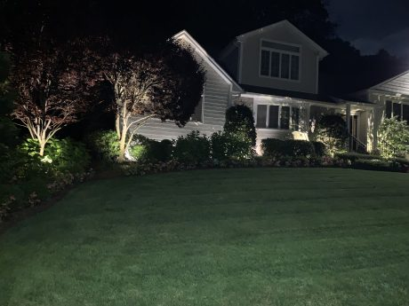 landscape lighting of your home