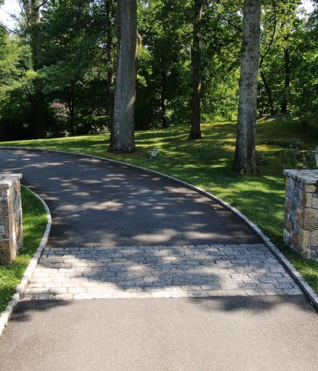 road hardscaping